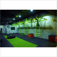 Indoor Crossfit Rigs