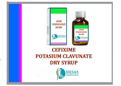 CEFIXIME POTASIUM CLAVUNATE DRY SYRUP
