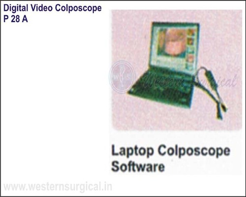 Digital Video Colposcope (Laptop Colposcope Software)