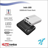 Portronics Indo 10D Black