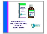 CYPROHEPTADINE TRICHOLINE CITRATE SORBITOL SYRUP