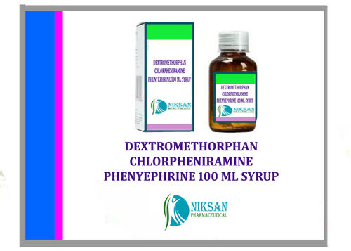 Dextromethorphan Chlorpheniramine Phenyephrine Syrup