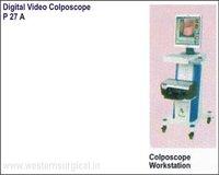 Digital Video Colposcope (Colposcope Work Station)