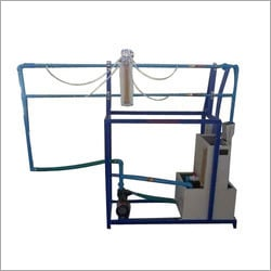 Friction In Pipes Line Apparatus