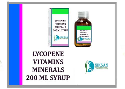 LYCOPENE MULTI VITAMINS MULTI MINERALS 200 ML SYRUP