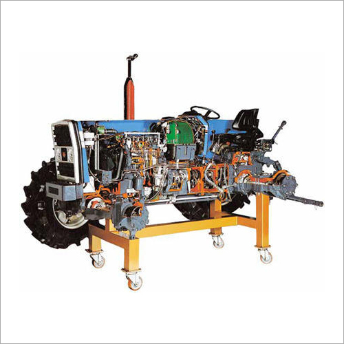 Cut Section Model Tractor For Training