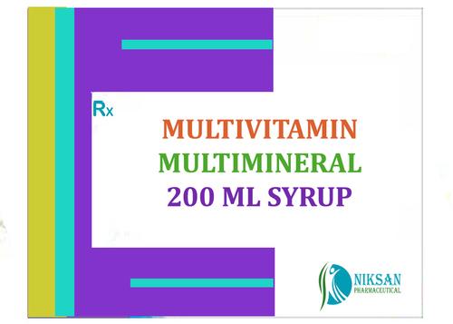 MULTIVITAMIN MULTIMINERAL 200 ML SYRUP