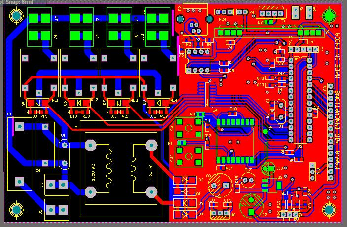 Double Side PCB Design Service