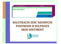 BACITRACIN ZINC NEOMYCIN POLYMIXIN B SULPHATE OINTMENT