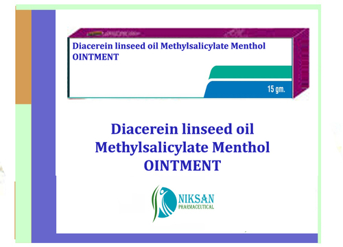 Diacerein Linseed Oil Methylsalicylate Menthol Ointment