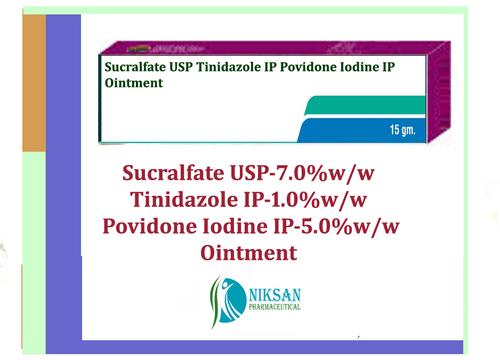 Sucralfate Tinidazole Povidone Iodine Ointment