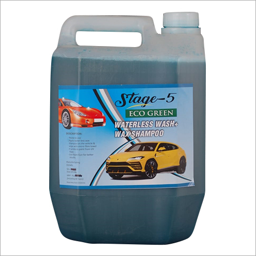 5 Ltr Waterless Wash Plus Wax Shampoo