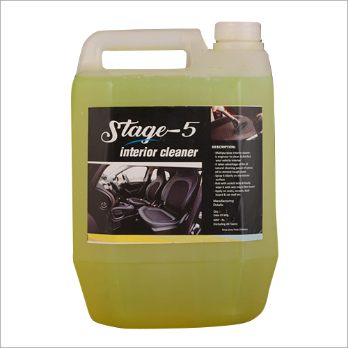 5 Ltr Car Interior Cleaner