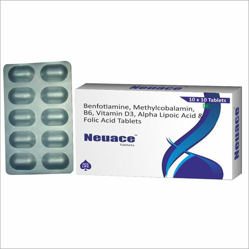 Benfotiamine Methylcobalamin B6 Vitamin D3 Alpha Lipoic Acid and Folic Acid Tablets