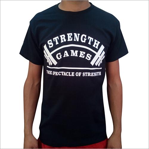 Mens Half Sleeve Printed T-Shirt