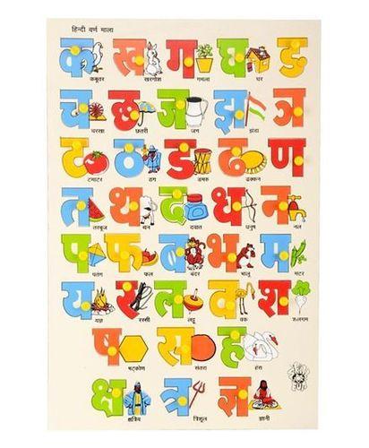 Hindi Consonants Knob