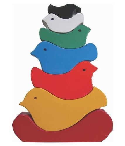Bird Stacking Tower