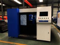 Closed switched optical fiber laser cutting machine