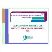 ACECLOFENAC LINSEED OIL METHYL SALICYLATE MENTHOL GEL