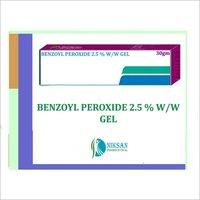 Benzoyl Peroxide 2.5 % W/w Gel