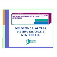 Diclofenac Aloe Vera Methyl Salicylate Menthol Gel