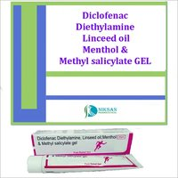 Diclofenac Linceed Oil Methyl Salicylate Menthol Gel