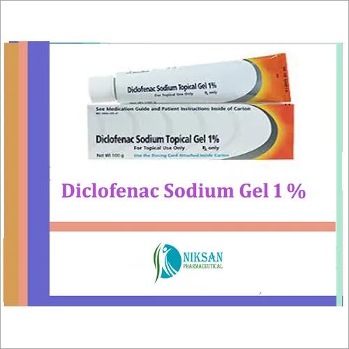 Diclofenac Sodium 1 % W/w Gel