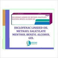 Diclofenac Linseed Oil Benzyl Alcohol Gel