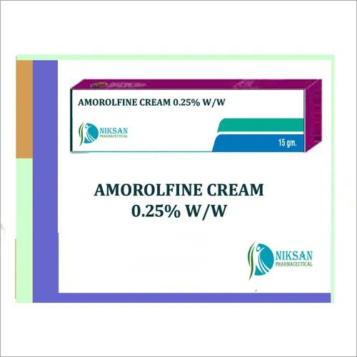 Amorolfine 0.25 % W/w Cream