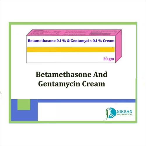 BETAMETHASONE AND GENTAMYCIN CREAM