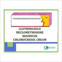 CLOTRIMAZOLE BECLOMETHOSONE NEOMYCIN CHLOROCRESOL CREAM