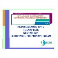 KETOCONAZOLE IDHQ TOLNAFTATE GENTAMICIN CLOBETASOL CREAM