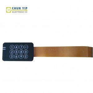 Medical Capacitance Switch, Touch Membrane Switch, Pet Membrane Switch