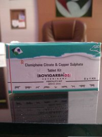 Clomiphene Citrate And Copper Sulphate Tablets Kit