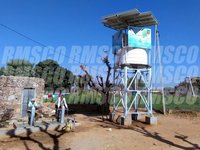 Solar Water Tank Structure