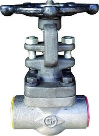 FORGED STEEL GLOBE VALVE SCREWED ENDS