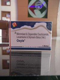 Oxyclozanide, Levamisole and Silymarin Bolus (Micronised & Dispersible )