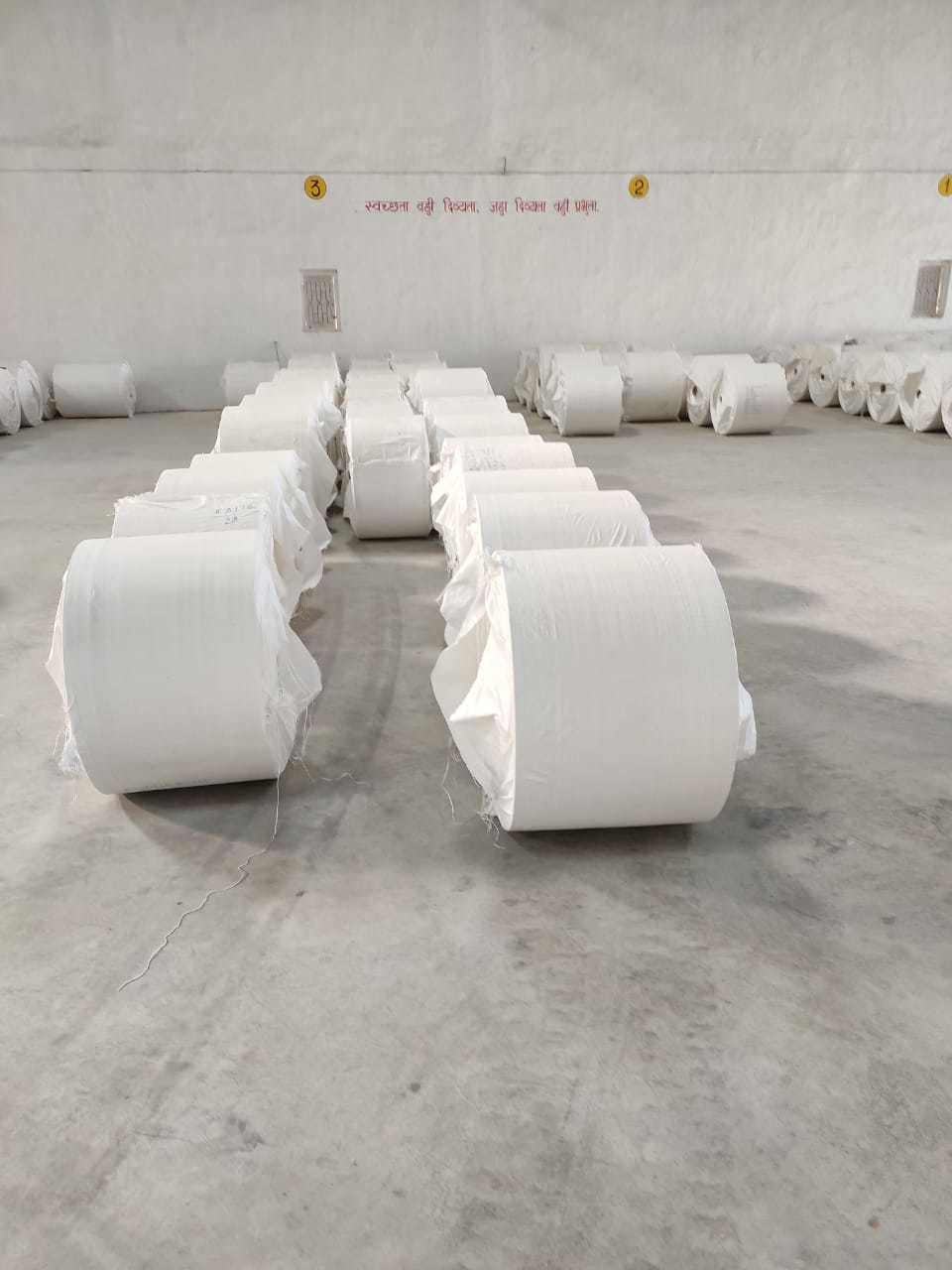 PP Woven Laminated Fabric Roll