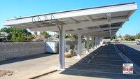 Solar CarPort Structure