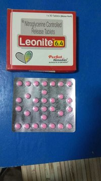 Nitroglycerin 2.6 mg & 6.4 mg