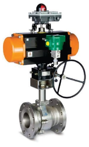 Ball Valve With Extended Bonnet