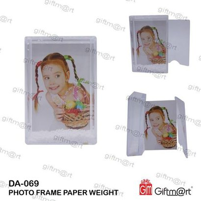 Photo Frame Paper Weight For Office Size: 9.5X6