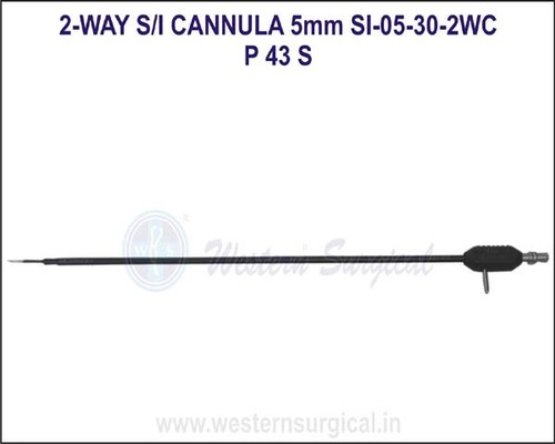 2 way suction irrigation cannula 5mm