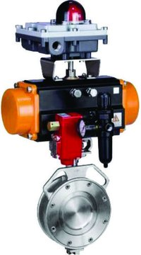 Rotary Actuated Double Offset Sphearical Butterfly Valve