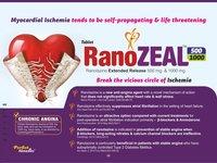 Ranolazine 500 mg & 1000 mg