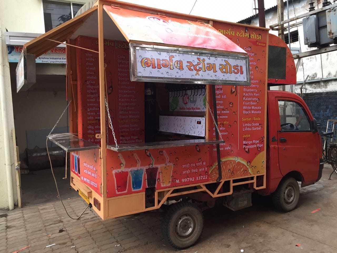 Mobile Van Soda