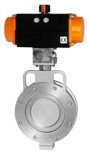 Rotary Actuated Butterfly Valve