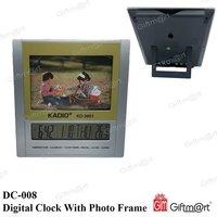 Digital Clock With Photo Frame