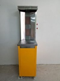 Shawarma Machine Double Burner Gas Type