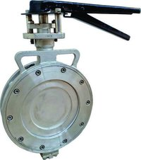 Double Offset Spherical Butterfly Valve.